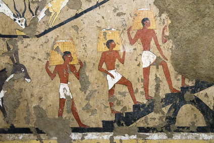 Fotolia 103230609 XS.jpg Ancient Egyptian mural